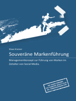 Souveräne Markenführung