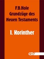 Grundzüge des Neuen Testaments - 1. Korinther