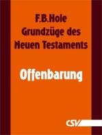 Grundzüge des Neuen Testaments - Offenbarung
