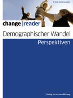 Demographischer Wandel - Perspektiven
