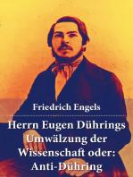 Herrn Eugen Dührings Umwälzung der Wissenschaft oder