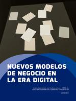 Nuevos modelos de negocio en la era digital: Más allá de la gratuidad en Internet
