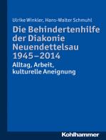 Die Behindertenhilfe der Diakonie Neuendettelsau 1945-2014
