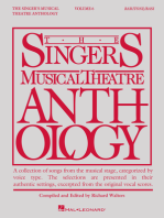 Singer's Musical Theatre Anthology - Volume 6: Baritone/Bass Book Only