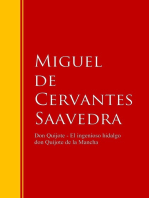 Don Quijote - El ingenioso hidalgo don Quijote de la Mancha