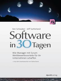 Software in 30 Tagen: Wie Manager mit Scrum Wettbewerbsvorteile für ihr Unternehmen schaffen