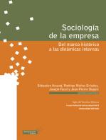 Sociología de la empresa: Del marco histórico a las dinámicas internas