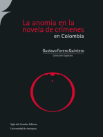 La anomia en la novela de crímenes en Colombia