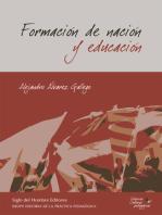 Formación de nación y educación