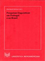 Pesquisas linguísticas em Portugal e no Brasil