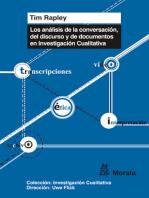 Los análisis de conversación, de discurso y de documentos en Investigación Cualitativa