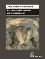 En busca del sentido de la educación