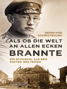 Als ob die Welt an allen Ecken brannte: Ein Schicksal aus dem Ersten Weltkrieg