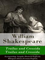Troilus und Cressida / Troilus and Cressida - Zweisprachige Ausgabe (Deutsch-Englisch) / Bilingual edition (German-English)