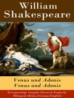 Venus und Adonis / Venus and Adonis - Zweisprachige Ausgabe (Deutsch-Englisch) / Bilingual edition (German-English)