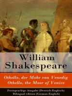 Othello, der Mohr von Venedig / Othello, the Moor of Venice - Zweisprachige Ausgabe (Deutsch-Englisch) / Bilingual edition (German-English)