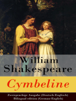 Cymbeline - Zweisprachige Ausgabe (Deutsch-Englisch) / Bilingual edition (German-English)