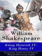 König Heinrich IV. / King Henry IV - Zweisprachige Ausgabe (Deutsch-Englisch) / Bilingual edition (German-English)
