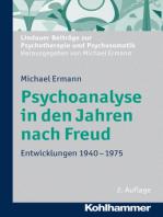 Psychoanalyse in den Jahren nach Freud
