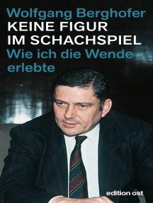 """Keine Figur im Schachspiel: Wie ich die """"Wende"""" erlebte"""