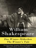 Das Winter-Mährchen / The Winter's Tale - Zweisprachige Ausgabe (Deutsch-Englisch) / Bilingual edition (German-English)