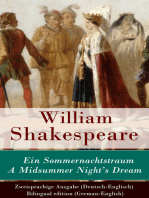 Ein Sommernachtstraum / A Midsummer Night's Dream - Zweisprachige Ausgabe (Deutsch-Englisch) / Bilingual edition (German-English)