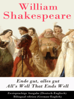 Ende gut, alles gut / All's Well That Ends Well (Deutsch-Englisch) / Bilingual edition (German-English)