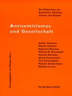 Antisemitismus und Gesellschaft