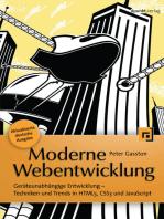 Moderne Webentwicklung