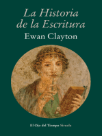 La historia de la escritura