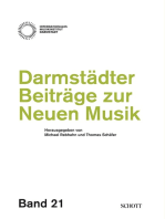 Darmstädter Beiträge zur neuen Musik: Band 21