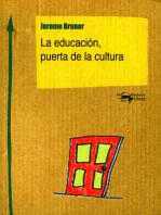 La educación, puerta de la cultura