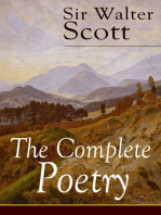 The Complete Poetry of Sir Walter Scott