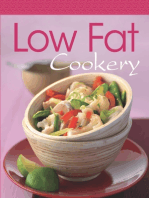 Low Fat Cookery