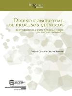 Diseño conceptual de procesos químicos. Metodología con aplicaciones en esterificación