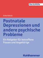 Postnatale Depressionen und andere psychische Probleme
