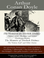 Die Memoiren des Sherlock Holmes