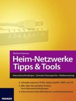 Heim-Netzwerke Tipps & Tools: Netzwerkverbindungen • Zentraler Datenspeicher • Mediastreaming