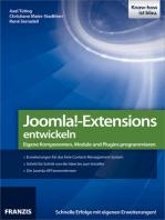 Joomla!-Extensions entwickeln