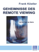 Geheimnisse des Remote Viewing