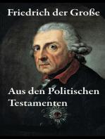 Aus den Politischen Testamenten