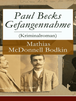 Paul Becks Gefangennahme (Kriminalroman)