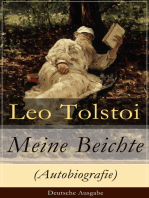 Meine Beichte (Autobiografie) - Deutsche Ausgabe