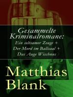 Gesammelte Kriminalromane