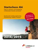 Startschuss Abi 2014/2015