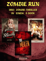 Zombie Run - 3 Zombie-Romane in einem Bundle