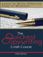 The Quickest Copywriting Crash Course
