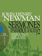 Sermones parroquiales / 2: (Parochial and Plain Sermons)
