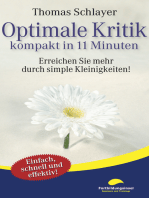 Optimale Kritik - kompakt in 11 Minuten