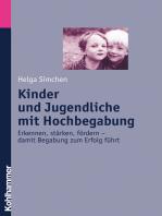Kinder und Jugendliche mit Hochbegabung
